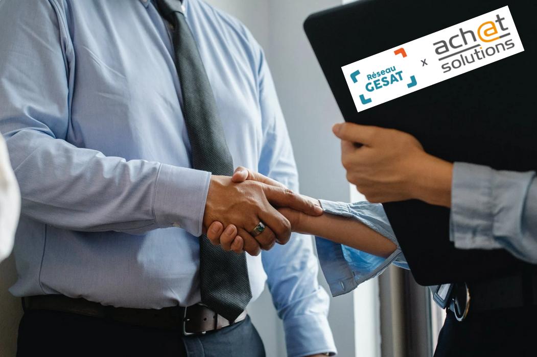Achat Solutions s'associe au Réseau Gésat